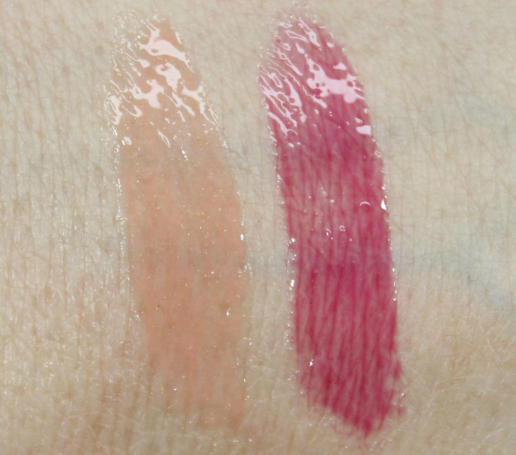 MAC Mineralize Glass Swatches