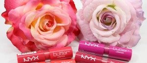 NYX Butter Lipstick Swatches and Review