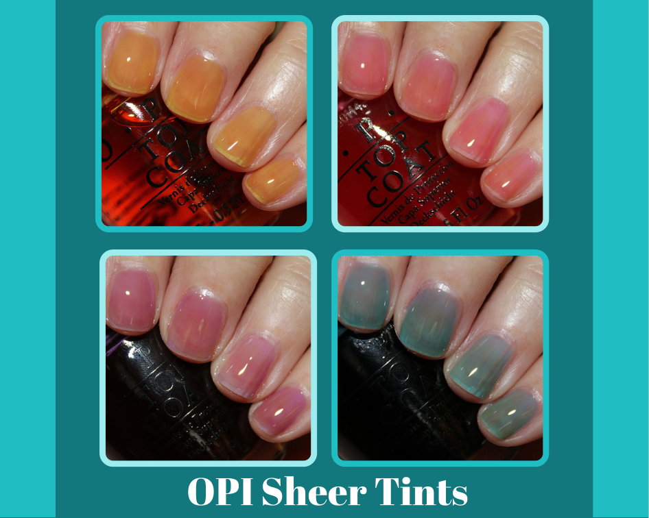 OPI Sheer Tints