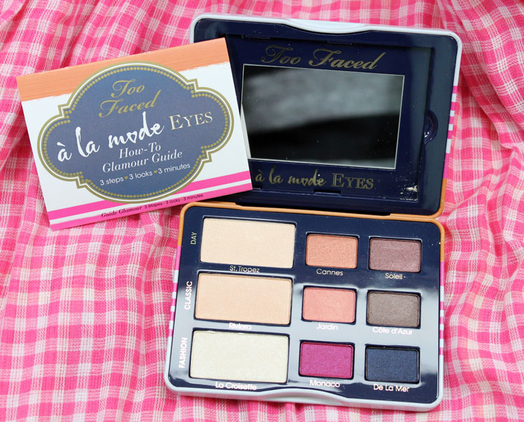 Too Faced A La Mode Eyes Sexy St. Tropez Eye Shadow Collection
