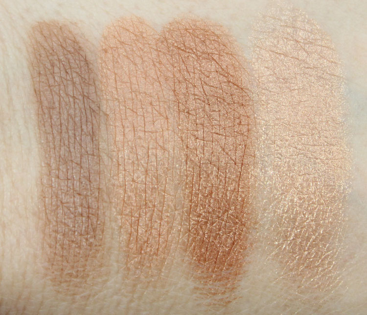 Too Faced Bonjour Soleil Swatches