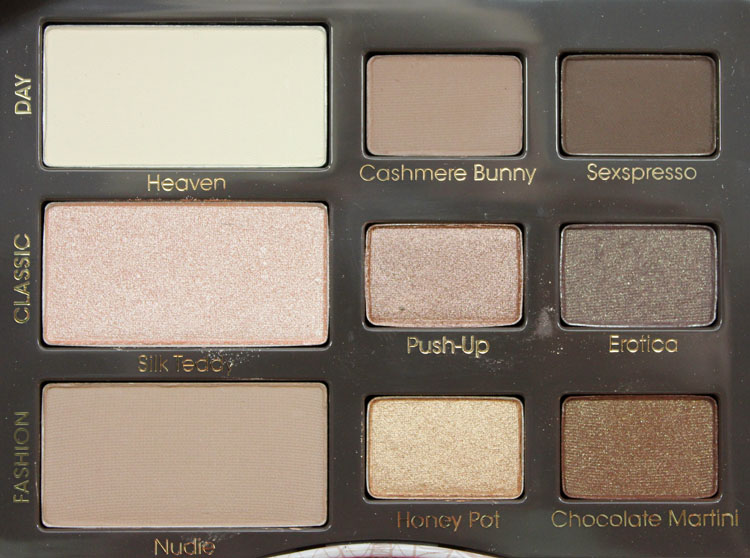 Two Faced Natural Eye Palette Dupe