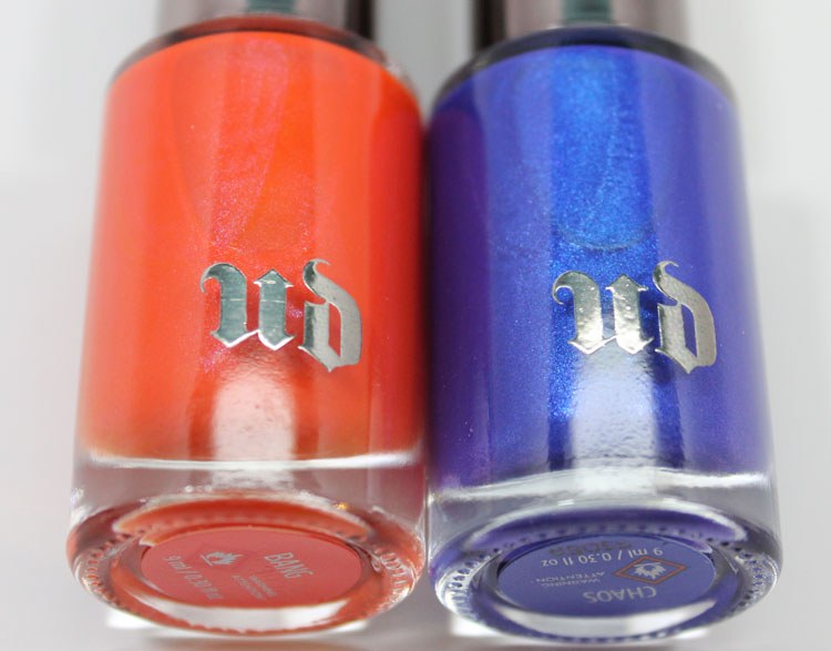 Urban Decay Nail Color Summer 2014-2