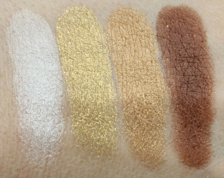 Wet n Wild Color Icon Eye Shadow Walking the Red Carpet Swatches-2