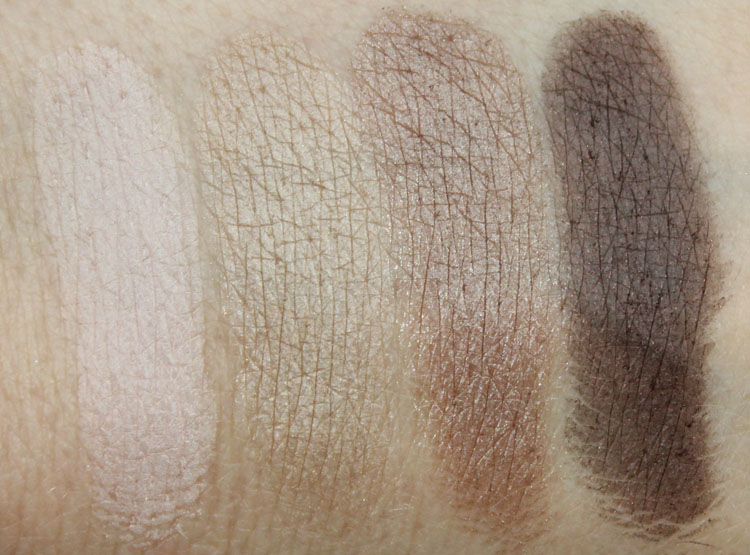 Wet n Wild Color Icon Eye Shadow Walking the Red Carpet Swatches