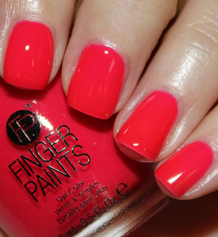 FingerPaints Art Deco Pink