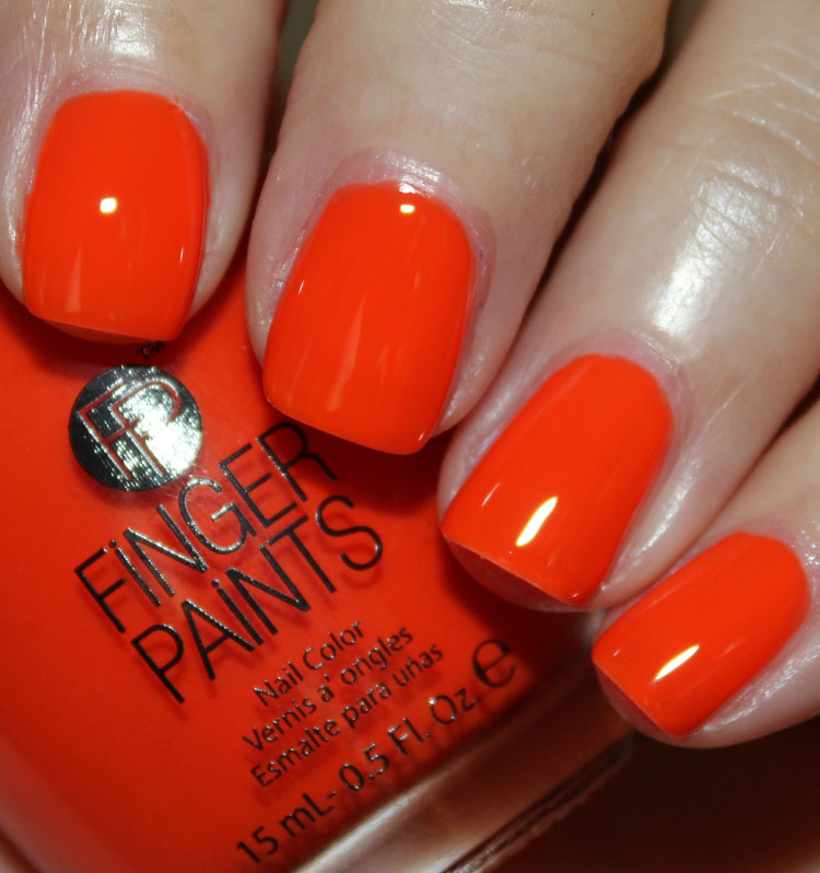 FingerPaints Kitchy Tangerine