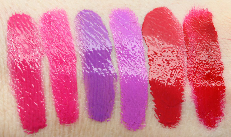L.A. Girl Glazed vs. Too Faced Melted Swatches-2