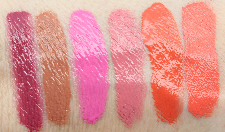 L.A. Girl Glazed vs. Too Faced Melted Swatches