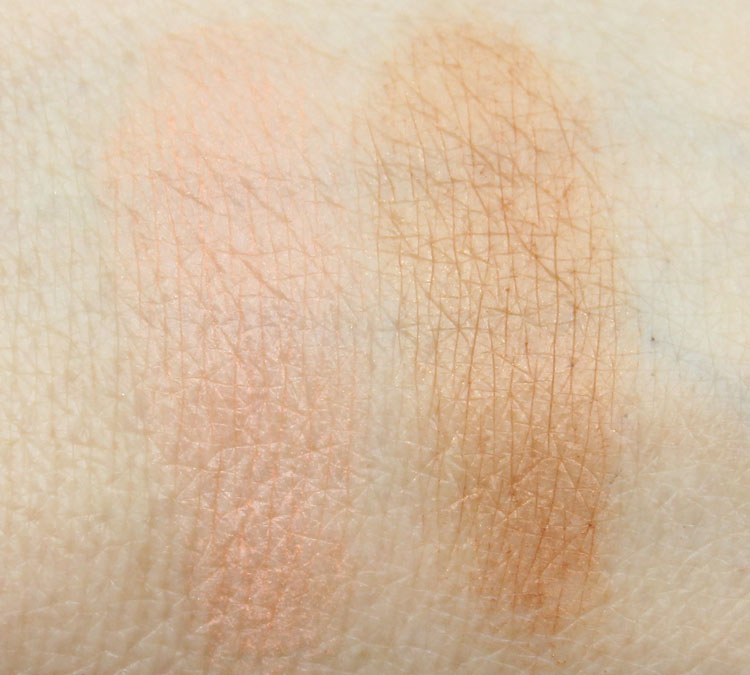 Lise Watier Eden Tropical Bronzing Powder Swatches