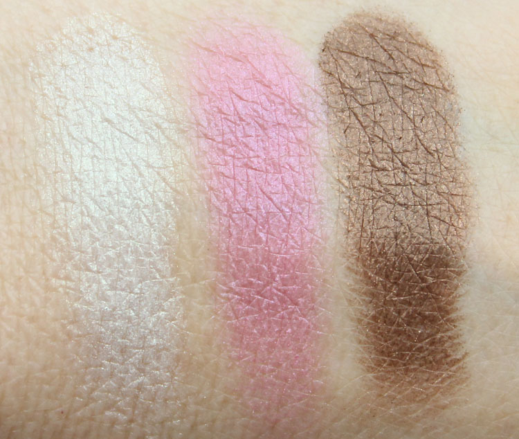 Lise Watier Eden Tropical Eyeshadow Palette Swatches-1