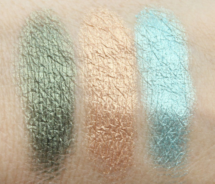 Lise Watier Eden Tropical Eyeshadow Palette Swatches-2