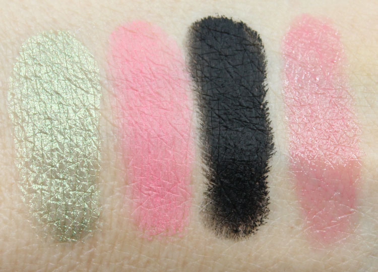 Lise Watier Eden Tropical Swatches