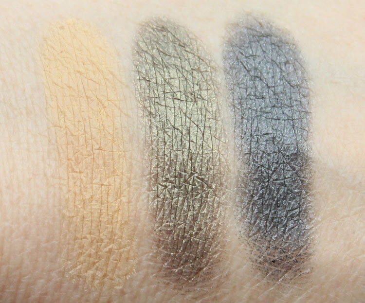 MAC By Request 2014 Eye Shadow Swatches