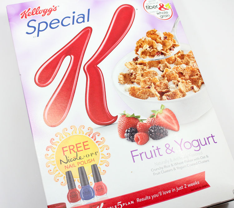 Nicole by OPI Kellogg's Special K-2