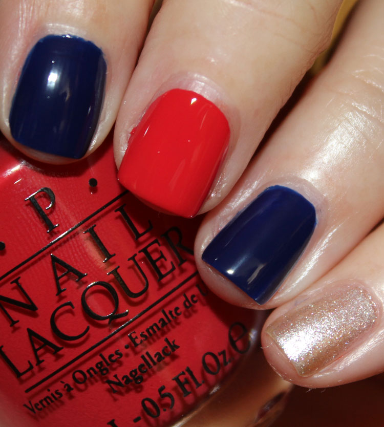 OPI Atlanta Braves Mani