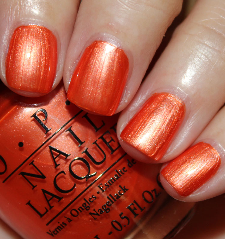 OPI Orange You Going To The Game?
