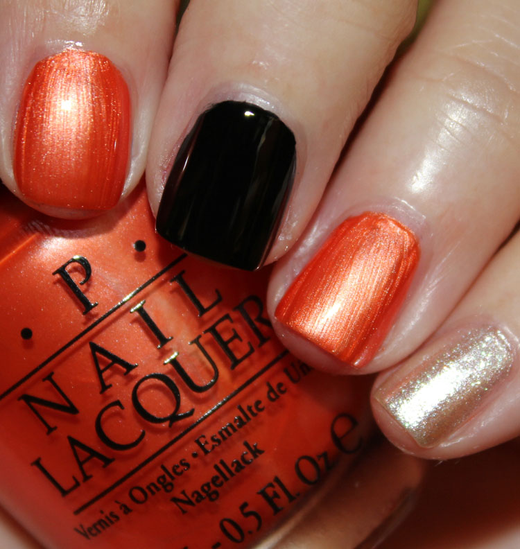 OPI SF Giants Mani