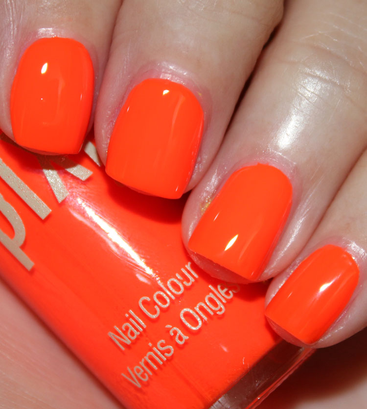 Pixi Nail Colour Oh So Orange