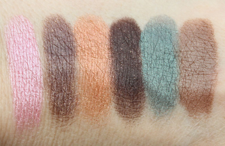 Too Faced Bonjour Summer Eye Shadow Palette Swatches-2