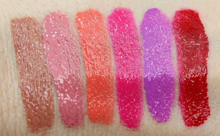 Too Faced Melted Liquified Long Wear Lipstick Swatches