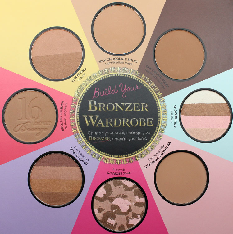 Too Faced The Little Black Book of Bronzers-3