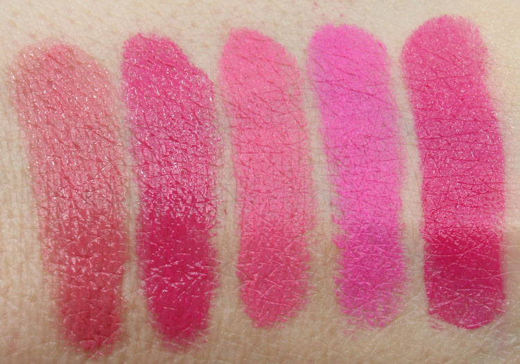Top 10 Pink Lipstick Swatches-2