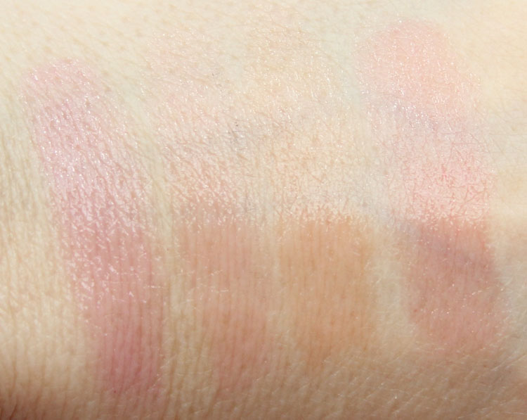 Benefit Hydrating Tinted Lip Balm Swatches
