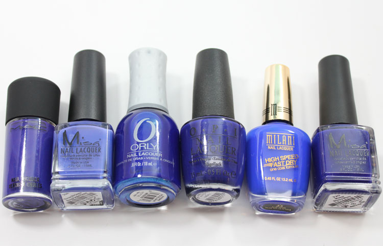 Cobalt Blue Nail Polish-2