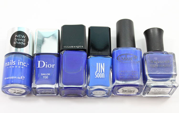 Cobalt Blue Nail Polish-3