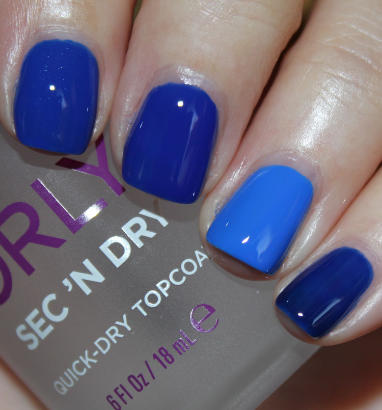 Cobalt Blue Nail Polish Comparisons