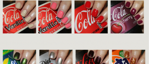 Coca-Cola by OPI Swatches & Review