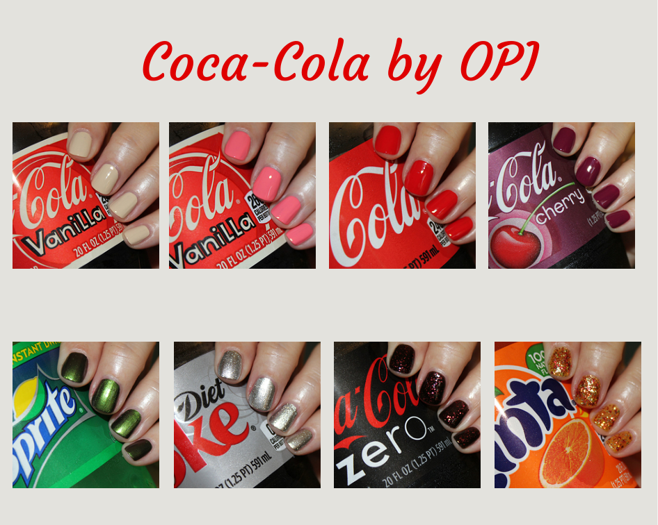 Coca-Cola by OPI Swatches  amp  ReviewOpi Coca Cola