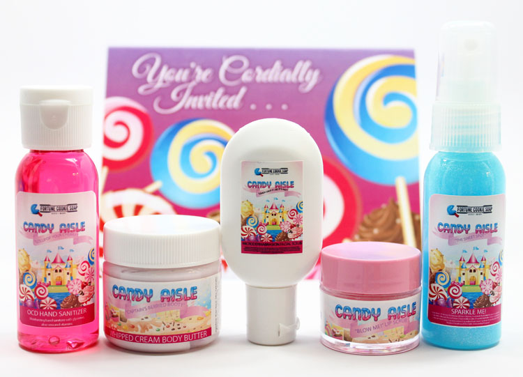 Fortune Cookie Summer Soap Box-2