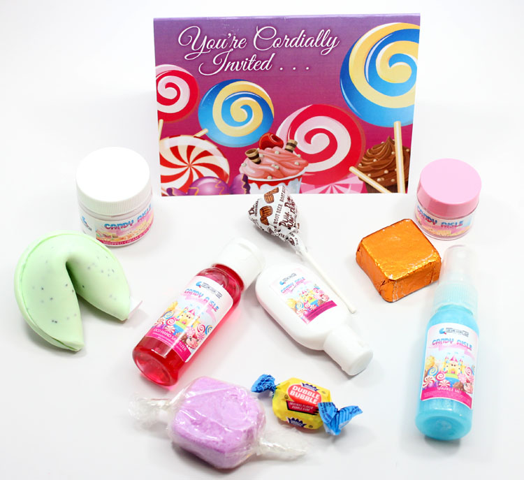 Fortune Cookie Summer Soap Box