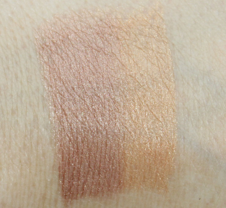 Hard Candy Highlight & Contour Sun Kissed Swatches