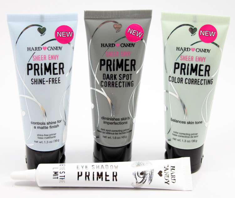 Hard Candy Sheer Evnvy Primer, Eye Shadow Primer