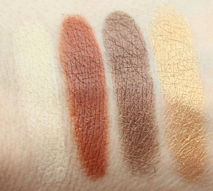 Kat Von D Monarch Eyeshadow Palette Swatches