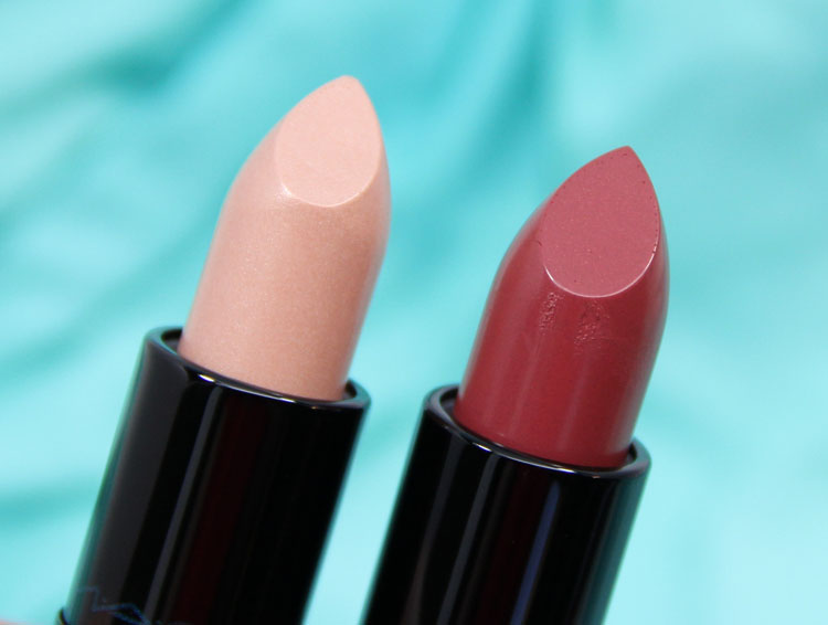MAC Alluring Aquatic Lipstick in Siren Song and Mystical