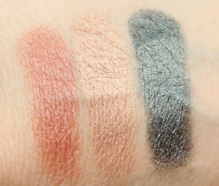 MAC Alluring Aquatic Seduced At Sea, Lorelei, Legendary Lure Swatches