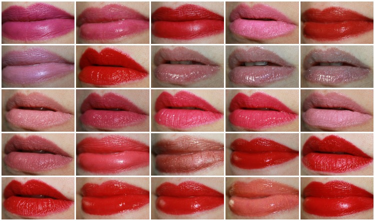 MAC Lipstick Collage-3