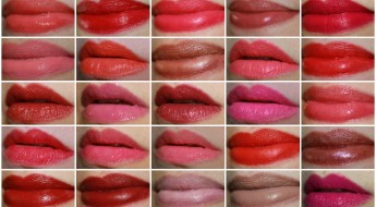 MAC Lipstick Collage