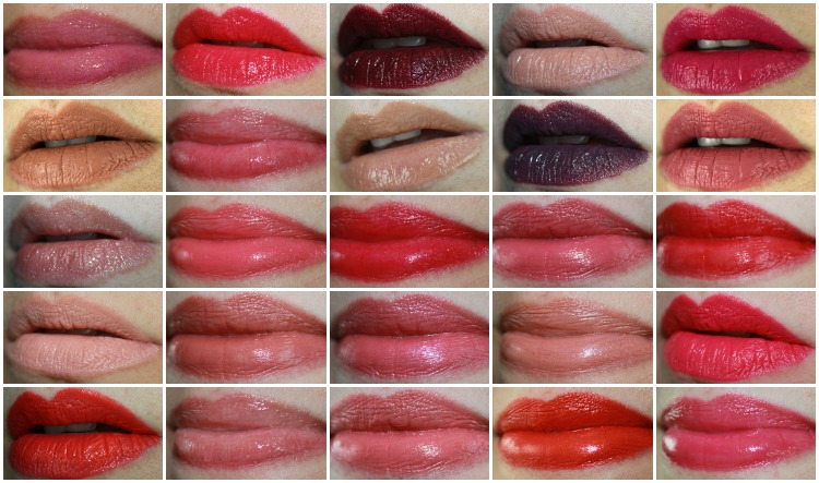 MAC Lipstick Collage-4