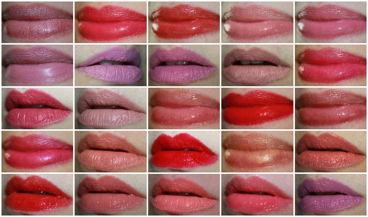 MAC Lipstick Collage-5