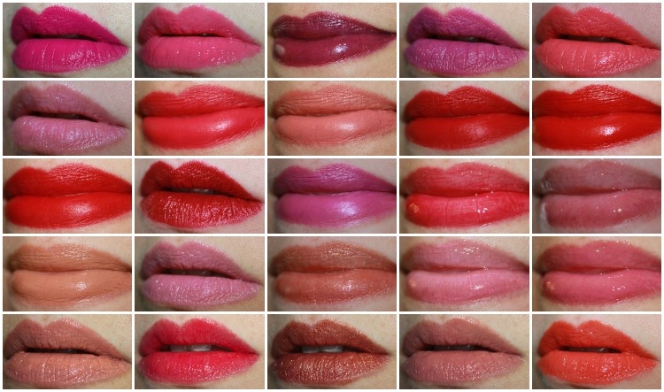 MAC Lipstick Collage-6