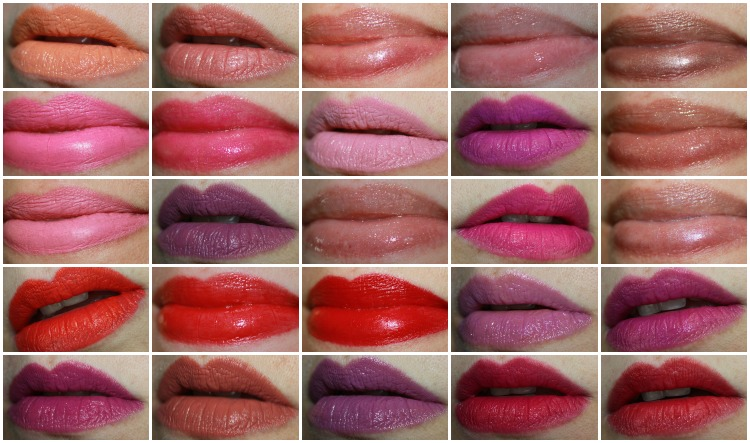 MAC Lipstick Collage-7