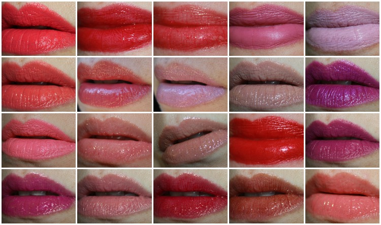 MAC Lipstick Collage-8