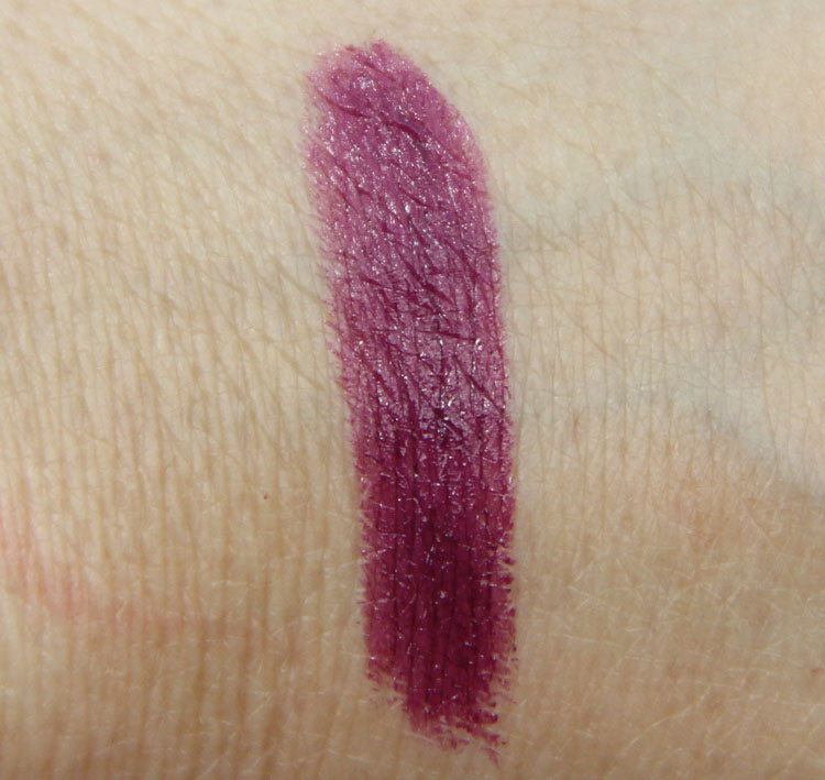 MAC Lorde Pure Heroine Lipstick Swatch
