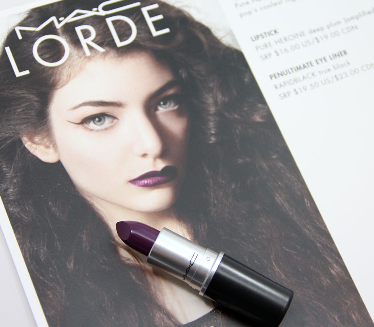 mac lipstick pure heroine - photo #29