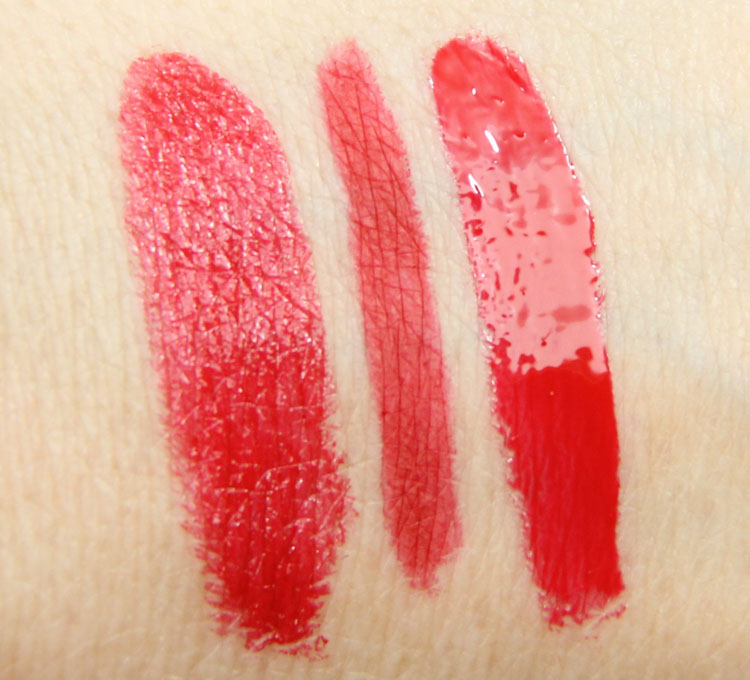 MAC Maleficent Lip Swatches